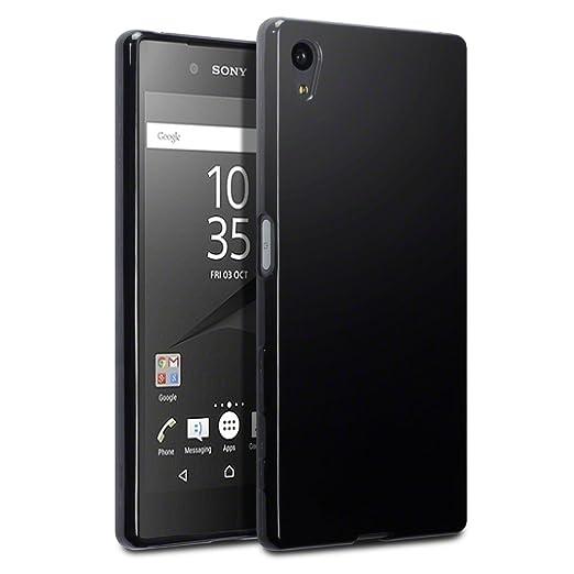 33 opinioni per Terrapin TPU Gel Custodia per Sony Xperia Z5 Cover, Colore: Nero