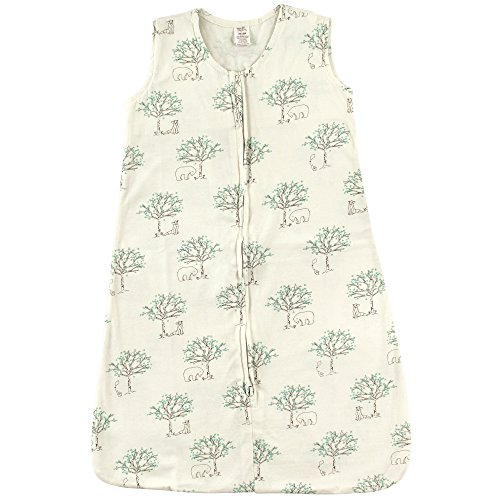 Touched by Nature Baby Infant Organic Cotton Wearable Safe Printed Sleeping Bag, Birch Tree, 18-24 Months Organic Sleepsack