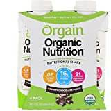 Organic Nutritional Shake Creamy Chocolate Fudge 4-Shakes 11 Ounces Review