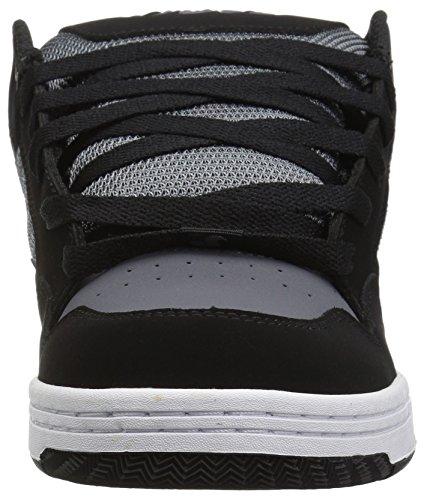 DVS Shoes Men's Enduro 125 Trainers, Black, 9.5 UK Black Charcoal Nubuck
