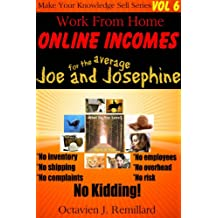 Work From Home Online Incomes (Lightning Success Ebooks Book 1)