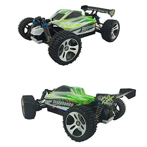 - Remote Control Car, Wltoys A959B 2.4GHZ Upgraded 540 Brush Motor 70km/h High Speed 1:18 4D RC Car Vehicle Toy