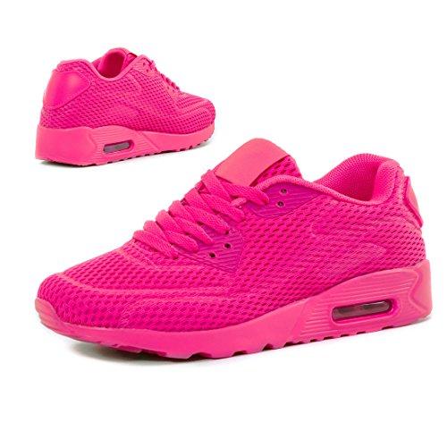 Pink Sneakers Basse Mesh Donna Da Marimo OPIwAPxr