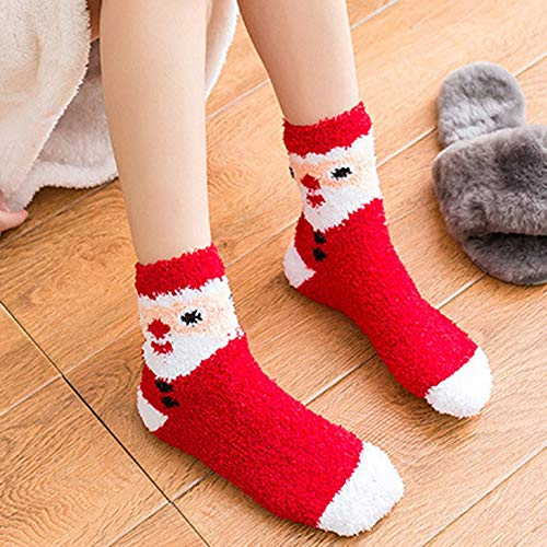 Womens Christmas Holiday Casual Socks, AKwell Colorful Fun Cotton Crew Socks for Novelty Gifts by AKwell (Image #1)