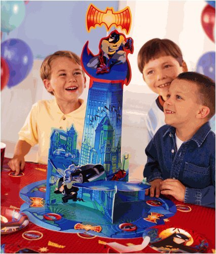 BATMAN LIGHT AND SOUND CENTERPIECE PARTY TABLE COVER -