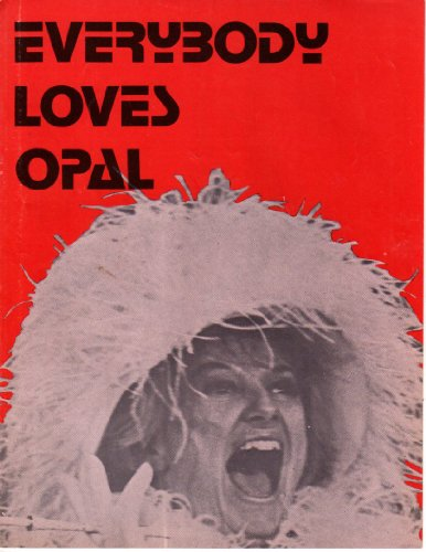 Phyllis Diller Everybody Loves Opal theatre magazine 8x10 #N1667