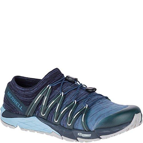 Flex Access Bare Blue Women's Merrell Trail Knit Laufschuhe SS18 BvHT5xqEw