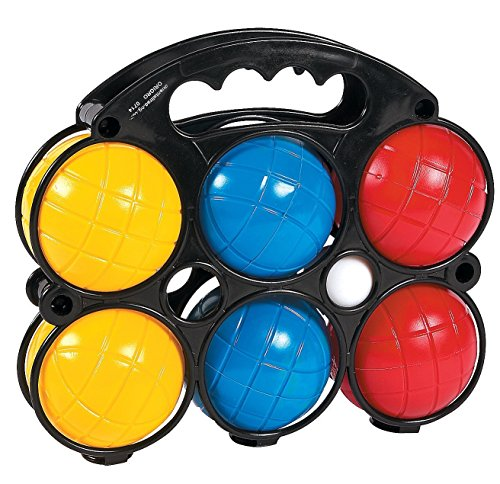 Bocce Ball Set (7 Piece) with Easy Carry Case by Fun Express