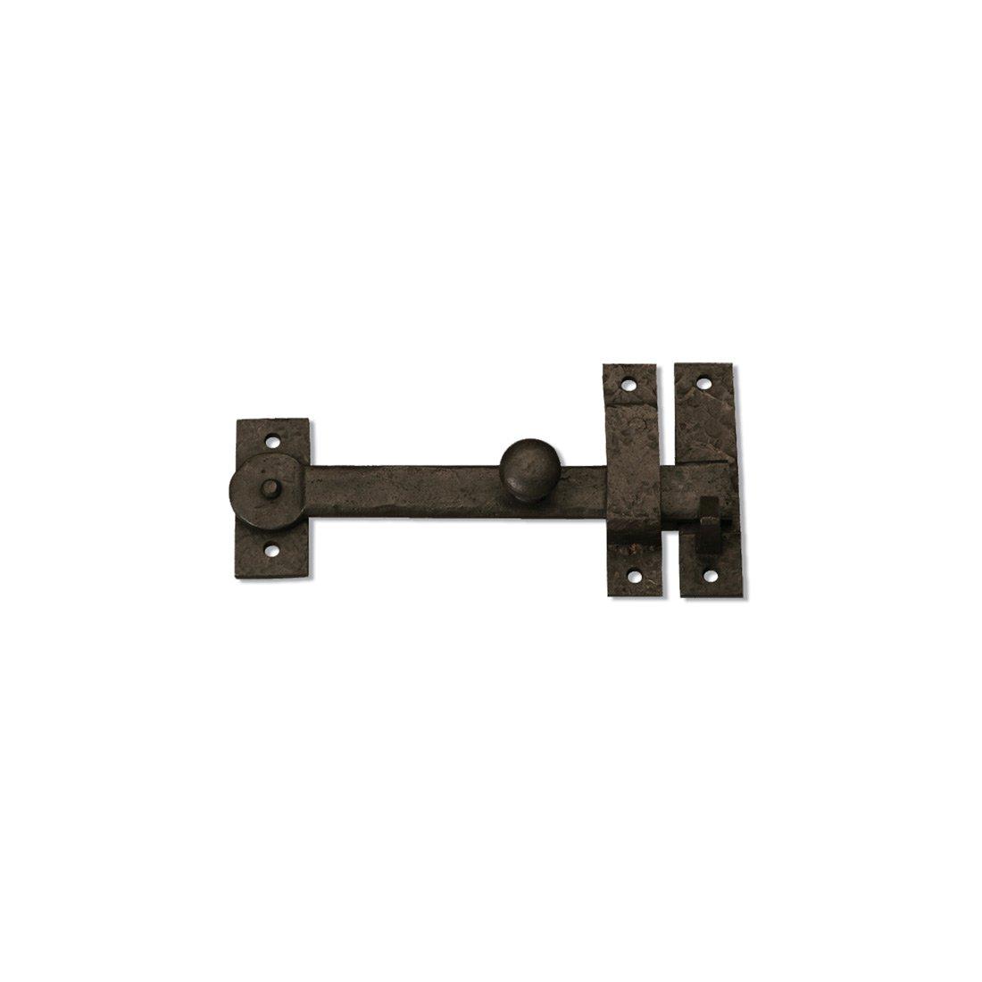 Coastal Bronze - 7.5'' Gate Drop Bar w/ Knob (Lever Latch) - Solid Bronze