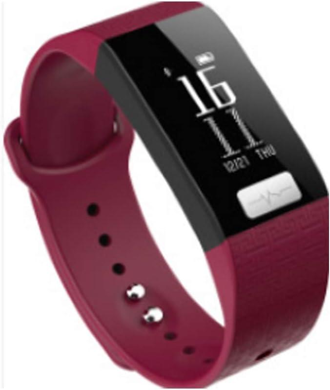 CPDZ Foto-Steuerung Gastgeber Smart Arm d Blautdruck-Herzfrequenz Schlagerüberwachung Fitness-Tracker-Business Sport-Mode weiblich männliche männliche männliche intelligente  d,lila