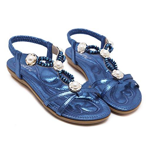 Wentsven Blue Ballerine Donna Ballerine Donna Blue Wentsven Zqng5OW68