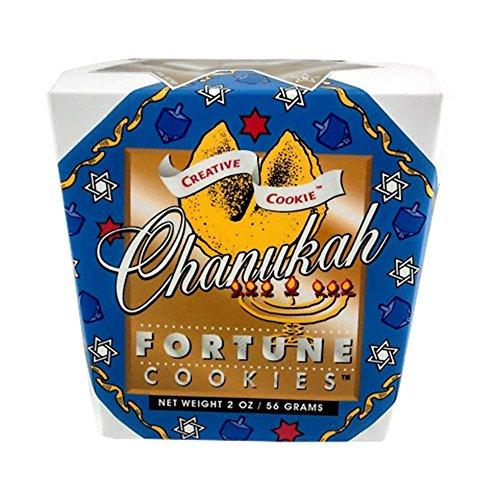 Chanukah (Hanukkah) Fortune Cookies - Unique Gourmet Gift Kosher Certified