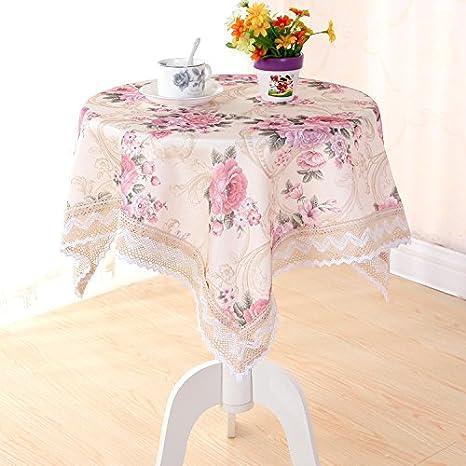 JY$ZB polvo manteles que las toallas para las toallas para banquetes del hotel de picnic , flax peony , 110*160: Amazon.es: Jardín