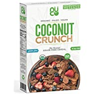 NUCO Certified ORGANIC Grain and Gluten Free Coconut Crunch Cereal, 1 Box, 10.58 OZ