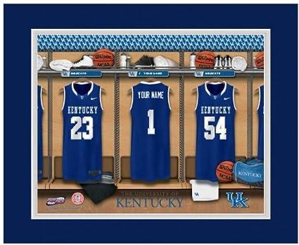quality design 69b96 4692d Amazon.com : NCAA Locker Room Print Kentucky Wildcats ...