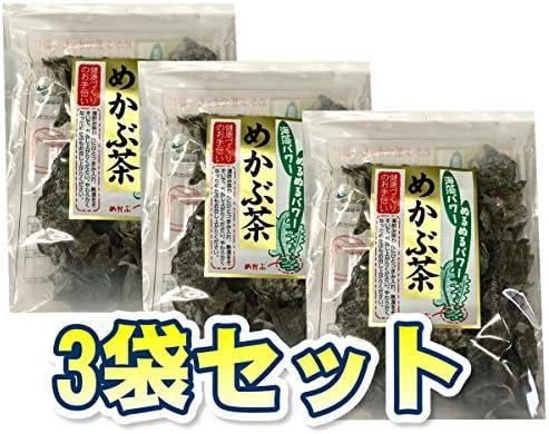 めかぶ茶60g 【3袋セット】海藻ぬるぬるパワーを毎日継続・食べよう海藻!
