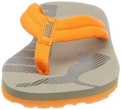 Puma Epic Flip V2 PS, Chanclas Unisex Niños Gris (Rock Ridge-vibrant Orange)