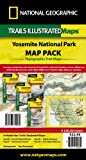 National Geographic Trails Illustrated Maps: Yosemite National Park Map Pack Bundle, National Geographic Maps, 1597754064