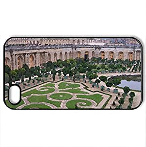 Chateau Versailles - Case Cover for iPhone 4 and 4s (Watercolor style, Black) by icecream design