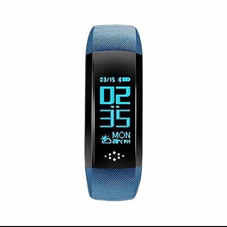 Podómetro Actividad Deportiva relojes deportivos reloj la salud con Cardio Frecuencia Presión Sanguínea y oxímetro pulsera