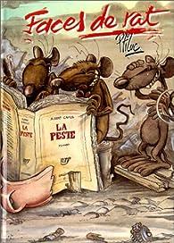 Faces de rat, tome 1 : La peste par  Ptiluc
