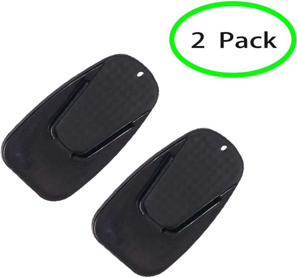 Kick Stand Plate Pad Base For Motorcycle motor Dirt Bike Perfect for parking on hot asphalt and soft surfaces Multicolor Pink 2 Pack Motorcycle Kickstand Plates