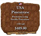 USA Pine Straw - Premium Long Needle Pine Straw - 1700 Sqft Pallet