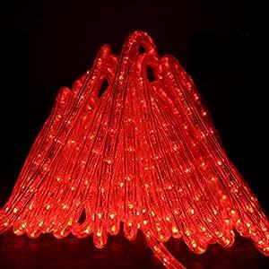Direct-Lighting GRL-50-RED Red 50ft LED Rope Light