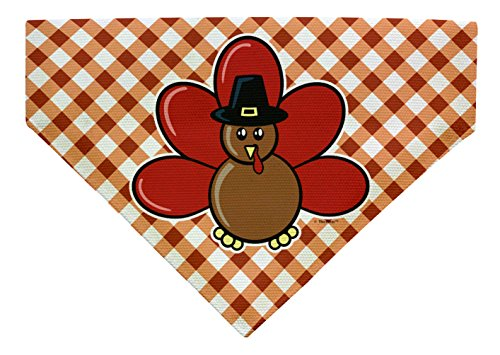 (Dog Thanksgiving Outfit for Dogs Dog Thanksgiving Clothes Small Dog Bandana Scarf for Dogs Bib)