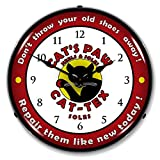 Collectable Sign and Clock 710023 14″ Cats Paw Lighted Clock Review