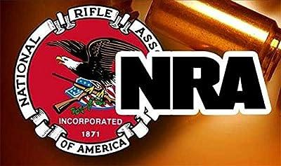 """2pcs NRA Guns and Rifles BULLET 4"""" Sticker Decal Car Truck Bumper Notebook Gun Rifle Rights Decal / Sticker / Helmet / Laptop - AG HOLMES"""