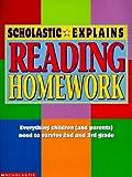 Scholastic Explains Reading Homework, Scholastic, Inc. Staff, 0590397559
