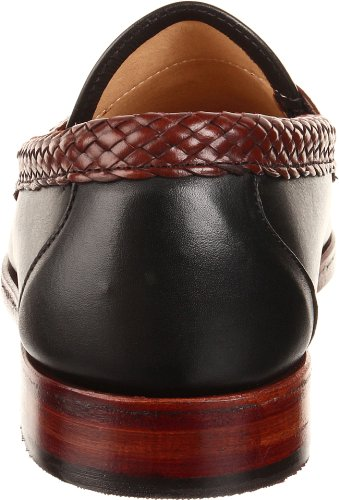 Allen Edmonds Uomo Maxfield Nappa Mocassino Nero / Marrone