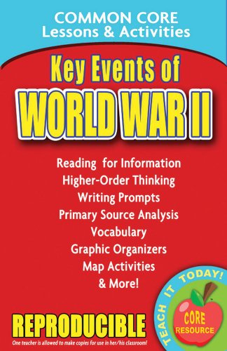 Key Events of World War II - Common Core Lessons and Activities
