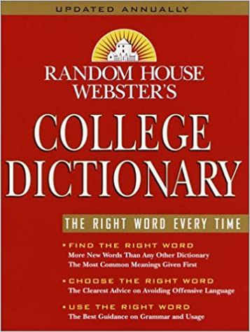 Amazon.com: Random House Webster's College Dictionary: 9780375425608: Random  House: Books