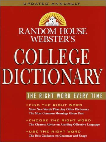 Random house websters college dictionary reading length random house websters college dictionary by random house malvernweather Gallery