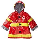 Mud Pie Baby Boys Fireman Rain Coat