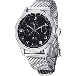 Zenith Men's 0324104010.21M Pilot Big Date Special Analog Display Swiss Automatic Silver Watch
