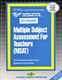 Multiple Subject Assessment for Teachers (MSAT), Rudman, Jack, 0837384699