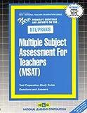 Multiple Subject Assessment for Teachers (MSAT), Rudman, Jack, 0837384699
