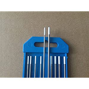 10 PCS,.040″&1/16″ 7″,White WZr8, 0.8% Zirconiated Tungsten TIG Electrodes (ETA:7-12 WORK DAYS)