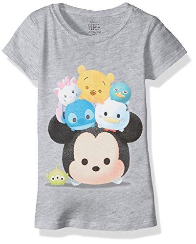 Disney Girls Little Tsum Cap Sleeve T-Shirt