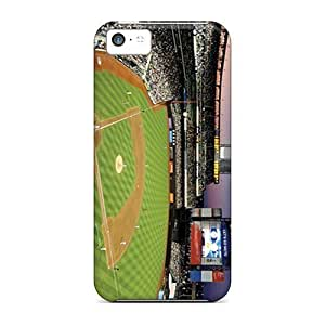 Anti-scratch And Shatterproof New York Mets Phone Case For Iphone 5c/ High Quality Tpu Case