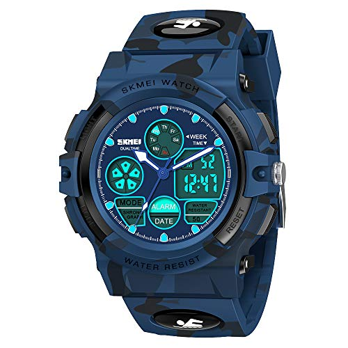 SOKY Kids LED Waterproof Digital Sport Watch Teen Boys Girls Outdoor Watches