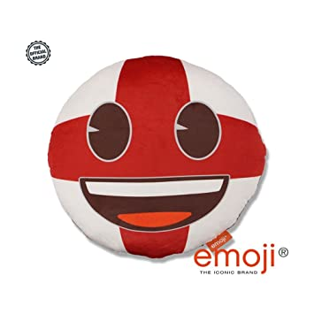 Love Bomb Cushions Bandera de Inglaterra de fútbol - Emoji ...