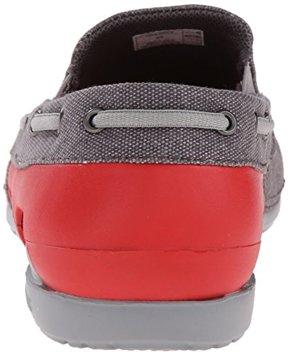 Crocs Retro Clog - Zapatillas zuecos, unisex Graphite/Flame