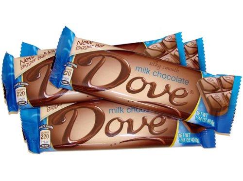 Dove Bar - Milk Chocolate, 1.44 oz, 18 count Dove Candy Bar