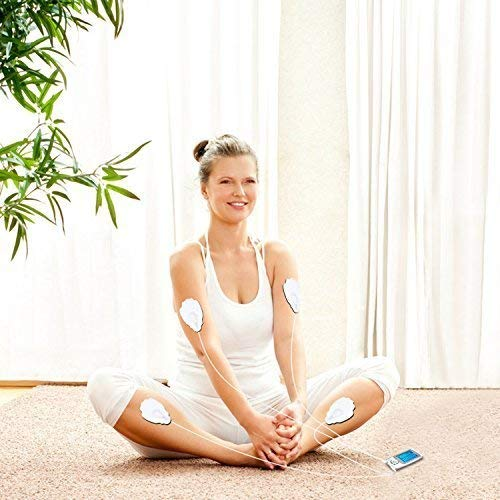 CUH TENS Electrodes Replacement Pads 20 Pads FDA Approved for TENS Unit Electronic Pulse Massager by CUH (Image #5)