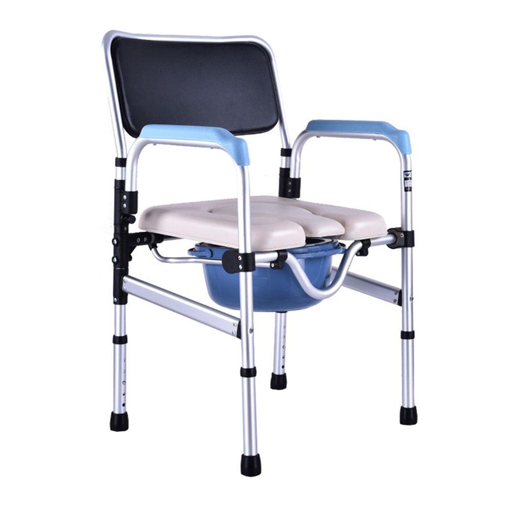 春のコレクション 障害のあるトイレの椅子滑り止めの手すりポータブル高齢者の人の人のアルミニウム合金の高さ調節可能な椅子の椅子のモバイル妊娠中の女性のトイレシート頑丈で丈夫なバケツシャワースツール最大150kg B07F6VLWBL B07F6VLWBL, ヒタチオオタシ:5f7802a8 --- eastcoastaudiovisual.com