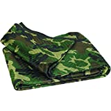 Ship Now Supply SNMB7280CMS Moving Blankets, Professional Quality, 72'' x 80'', Camouflage (Pack of 6)